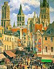 The Old Market at Rouen