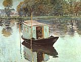 Famous Boat Paintings - The Studio Boat