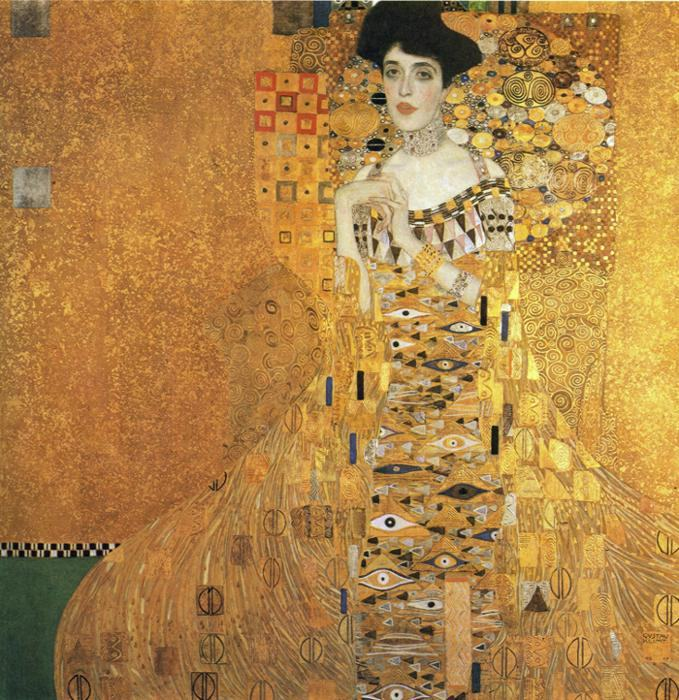 gustav klimt portrait of adele bloch bauer i painting. Black Bedroom Furniture Sets. Home Design Ideas