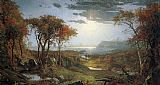 Jasper Francis Cropsey - Autnmn on the Hudson River