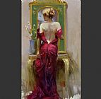 Elegant Canvas Paintings - Elegant Seduction