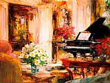 Elegant Canvas Paintings - Elegant Style