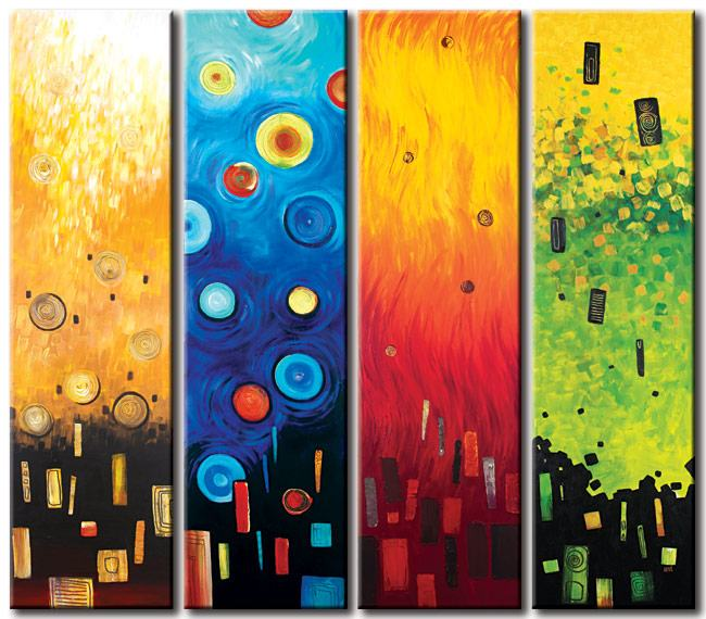 Abstract oil paintings - Our designs -50% off