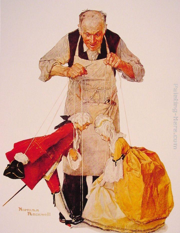 Norman Rockwell The Puppeteer