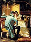 Elegant Canvas Paintings - Elegant Couples In Interiors (Pic 1)
