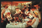 The Boating Party Lunch Painting