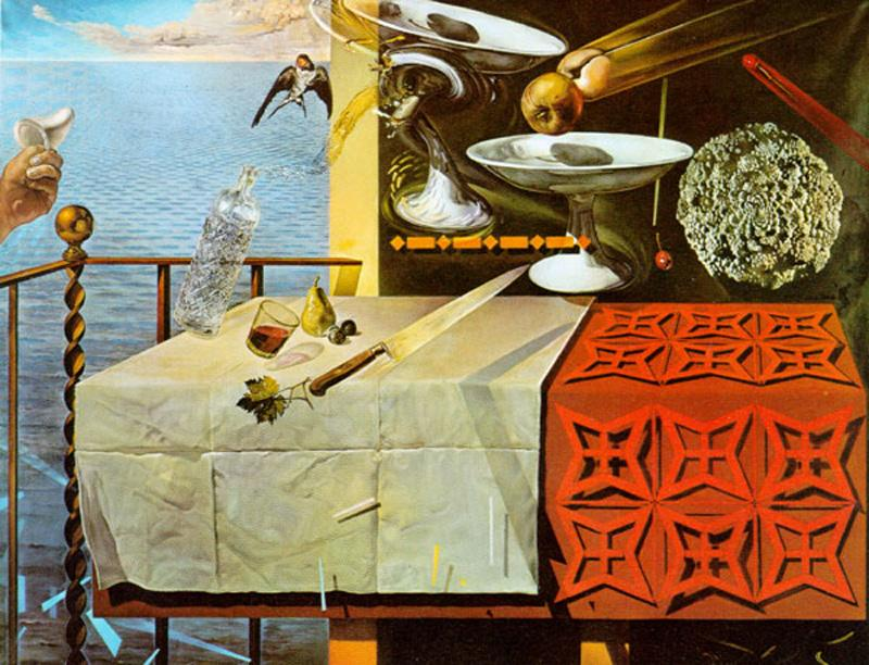 Salvador Dali Living Still Life